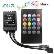 Bộ điều khiển led dây 5m RGB cảm ứng nhảy theo nhạc – Led music controller