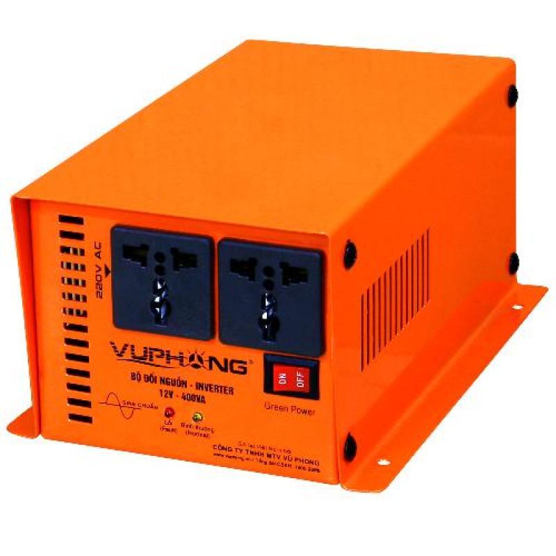 Bảng giá Mua Bộ đổi nguồn sine chuẩn SolarV 12V-400VA