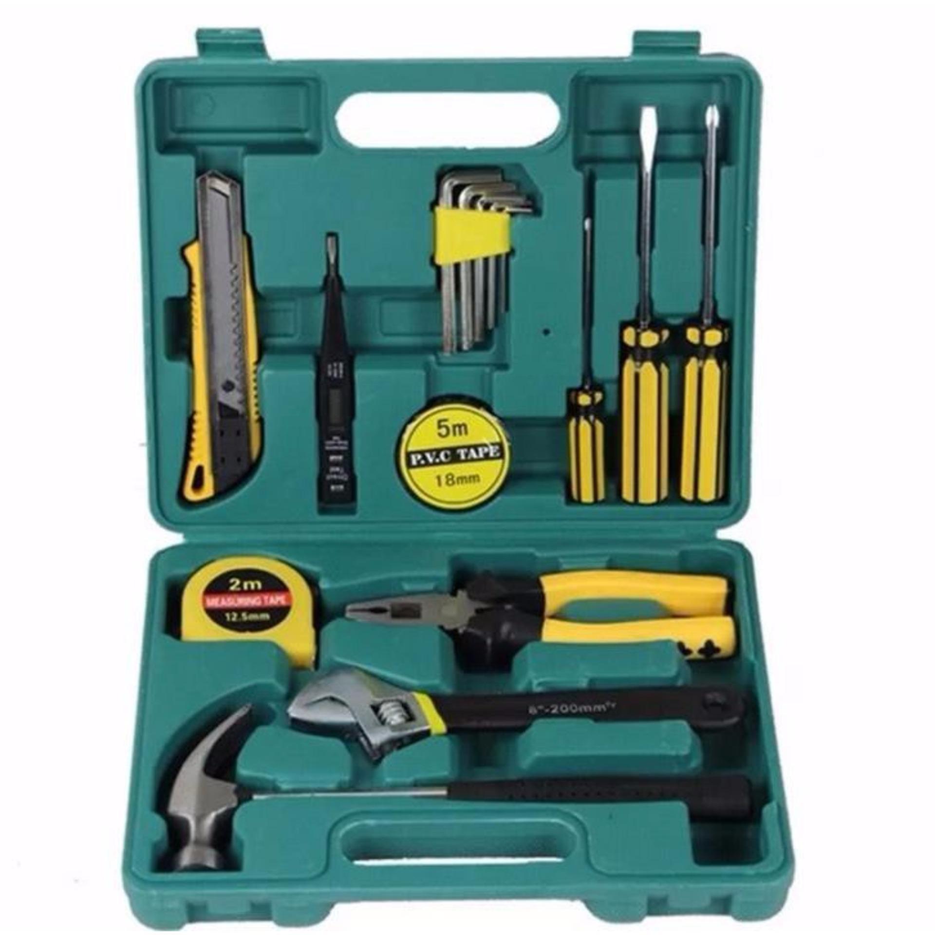 Bộ dụng cụ sửa chữa đa năng 16 món cao cấp