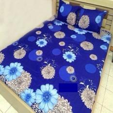Bộ ga giường Hoa bóng than 1m6x2m