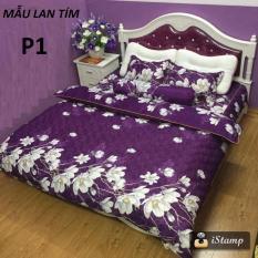 bộ ga giường và 2 vỏ gối cotton poly