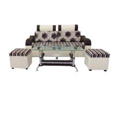 Bộ ghế sofa mini Ngọc Hân BGSN04 (Kem)