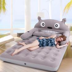 Bộ giường hơi cao cấp hình thú (Tặng kèm bơm)