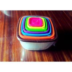 Bộ hộp nhựa 7 món đựng thực phẩm