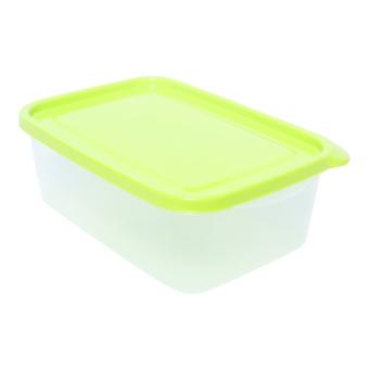 Bộ hộp nhựa chữ nhật JCP 6073/3 1050ml 3 món (Xanh lá) - 2