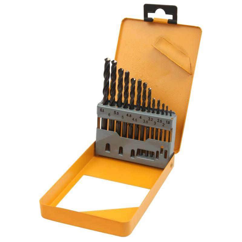 BỘ KHOAN SẮT 13 CÂY CÔNG NGHIỆP TOLSEN 75080- 1.5,2,2.5,3,3.2,3.5,4,4.5,4.8,5,5.5,6,6.5mm
