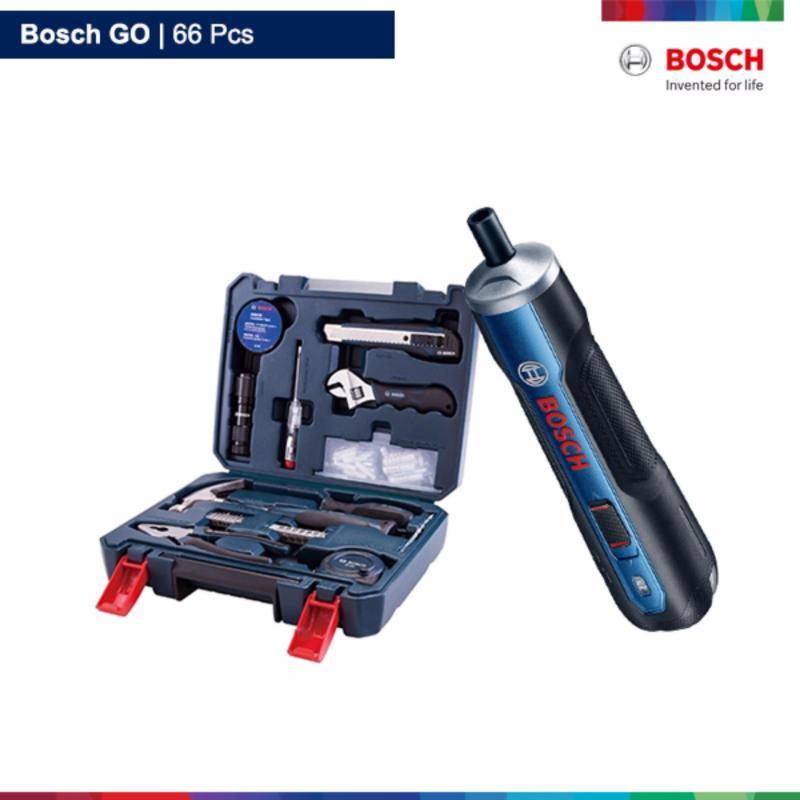 Bộ máy bắt vít dùng pin Bosch GO 66 chi tiết