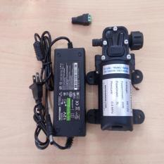 Bộ máy bơm áp lực mini 12V 30W kèm nguồn điện