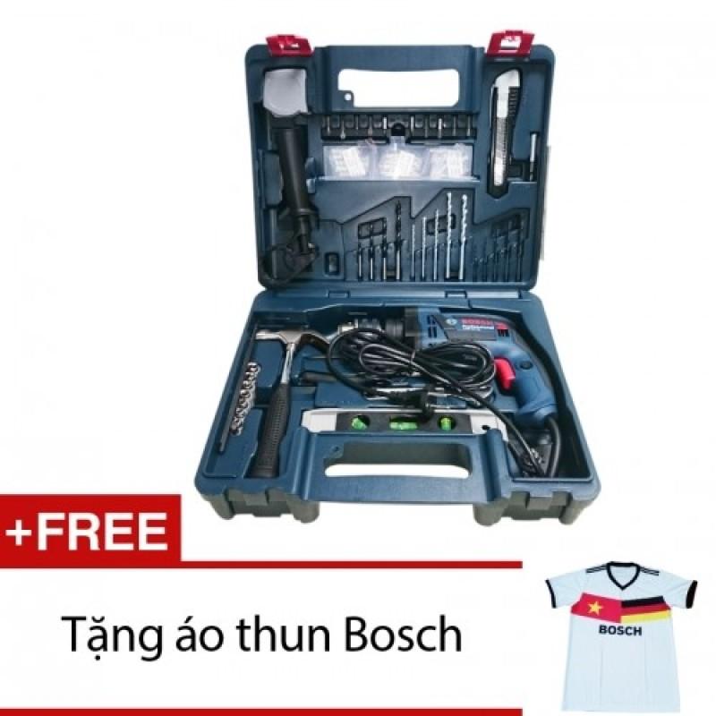Bộ máy khoan Bosch GSB 13RE hộp nhựa 100 món