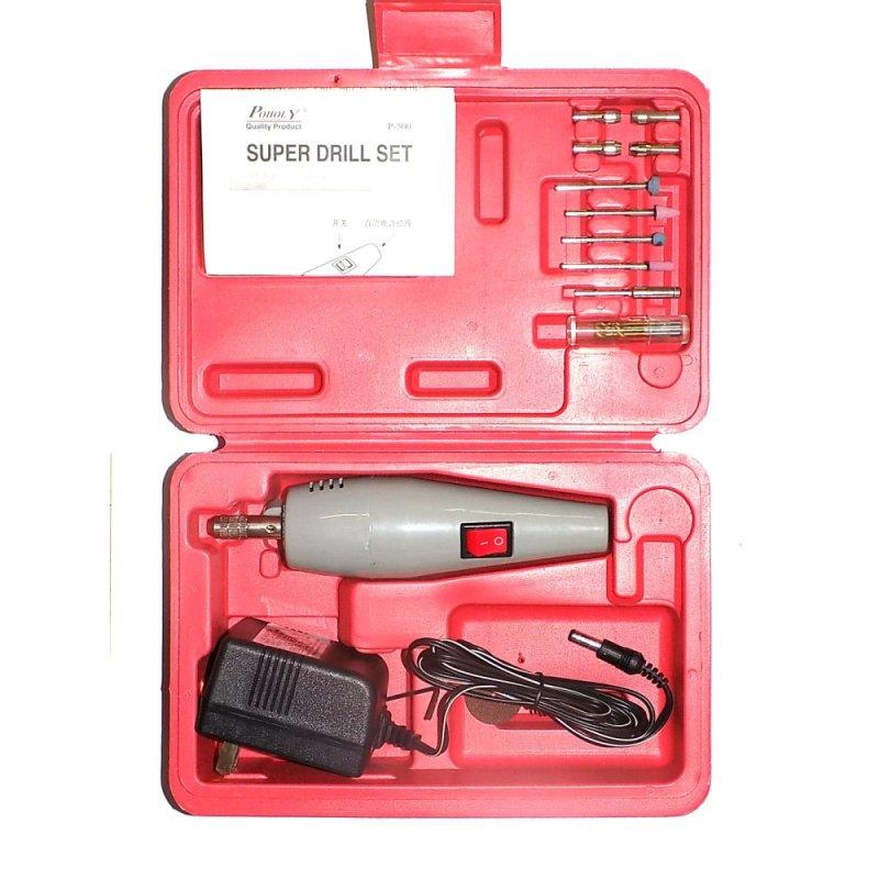 Bộ máy khoan cắt cầm tay mini Poholy ID1540