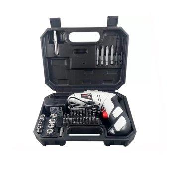 Bộ máy khoan kiêm vặn ốc vít 45 chi tiết có sạc tích điện BenHome-4802(Trắng)