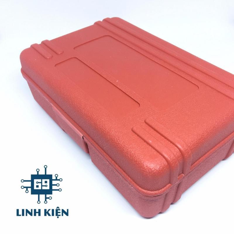 Bộ máy khoan máy mài mini ( hộp đỏ)