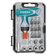 Bộ mũi vít 18 chi tiết Total TACSD30186