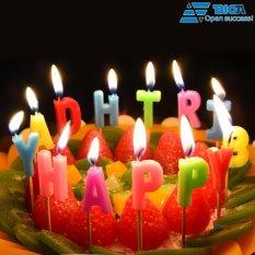 Địa Chỉ Bán Bộ Nến Sinh Nhật Vui Vẻ chữ HAPPY BIRTHDAY US04414