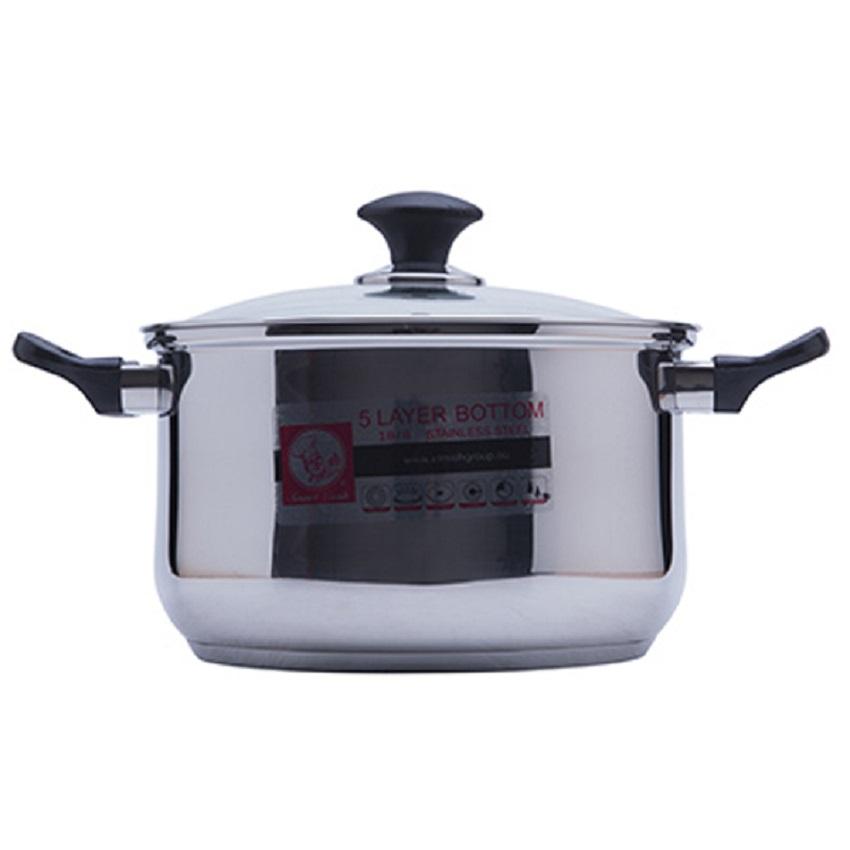 Bộ nồi và quánh inox Elmich Smartcook S1496 3 món