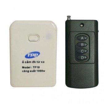 Bộ ổ cắm điều khiển từ xa hồng ngoại RF TPE TF10 + Remote tầm xa 1000m R4.1