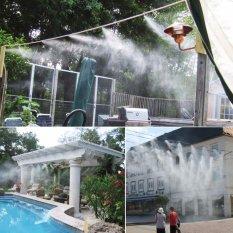 Bộ phun sương 30m ống + 10 béc + 1 lọc + 1 máy bơm