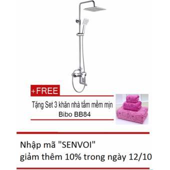Bộ sen cây tắm Zento ZT-ZS9599 + Tặng bộ 3 khăn tắm
