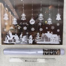 Cập Nhật Giá Bộ Sticker dán kính trang trí giáng sinh (mẫu trắng 2)  M&N Toys