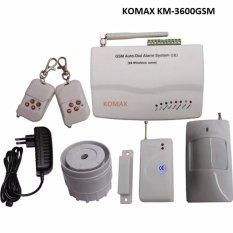 Bộ thiết bị báo động chống trộm dùng SIM KOMAX KM-3600GSM