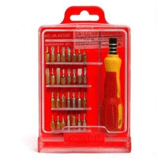 Bộ Tua Vít 32 Đầu Loại 1 USA Store (Đỏ)