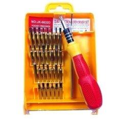 Bộ tua vít đa năng 32 món JK-6032 (Vàng)