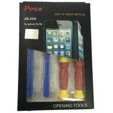 Bộ vít mở iPhone 5 5s 4s - Poso JK-I05