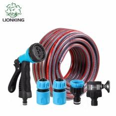 Bộ vòi tưới cây,rửa xe LionKing SH10 10m (Đỏ)