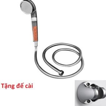 Bộ vòi và dây sen tăng áp nano Zento ZBS312