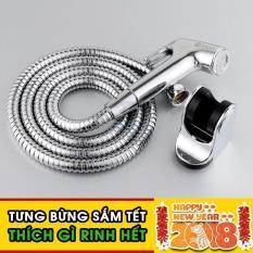 Bộ vòi xịt vệ sinh cao cấp C'MON VX-01 (Bạc)