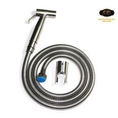 Giá KM Bộ vòi xịt vệ sinh Inox SUS 304 Eurolife EL-X04