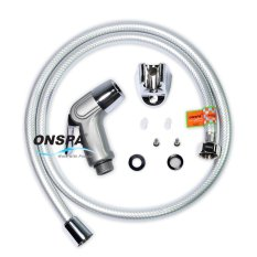 Bộ xịt vệ sinh cao cấp dây PVC xoay 360° Onspa 131 1m2 (Bạc)