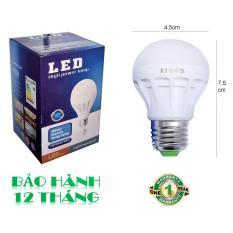 Bóng đèn LED 3W tiết kiệm điện sáng vàng ấm POSSON LB-E3G