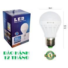 Bóng đèn LED 7W tiết kiệm điện sáng trắng POSSON LB-E7