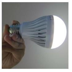 Bóng đèn led 9W cảm ứng tự sáng khi cúp điện