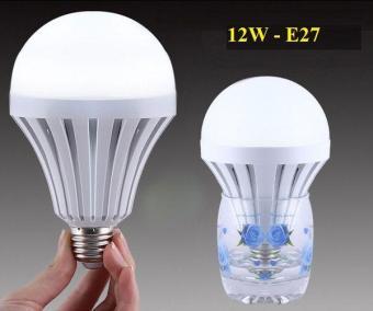 Bóng đèn Led thông minh tích điện 12W Trắng