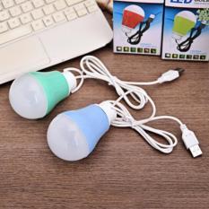 Bóng Đèn Led Tròn Siêu Sáng Cổng USB