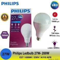 Bóng đèn Philips LEDBulb 27W – 200W E27 6500K 230V A110 APR