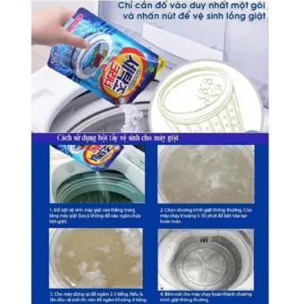 Bột tẩy vệ sinh lồng máy giặt Korea 450g TI061
