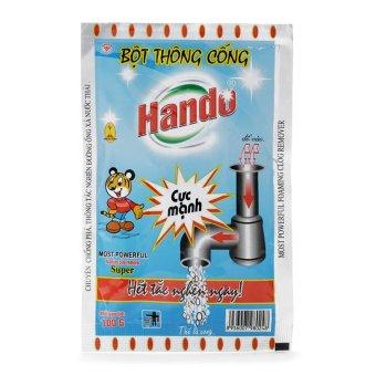 Bột thông cống nội địa Hando 100g CS319 (Xanh)