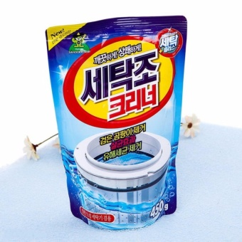 Bột vệ sinh tẩy lồng máy giặt Hàn Quốc 450Gr SM401