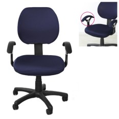 Brand New Office Separated Chair Cover Flower Type Swivel Chair Computer Armchair Protector Executive Task Slipcover Back Seat Cover