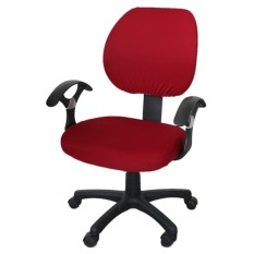 Brand New Office Separated Chair Cover Swivel Chair Computer Armchair Protector Executive Task Slipcover Internet Bar Back Seat Cover