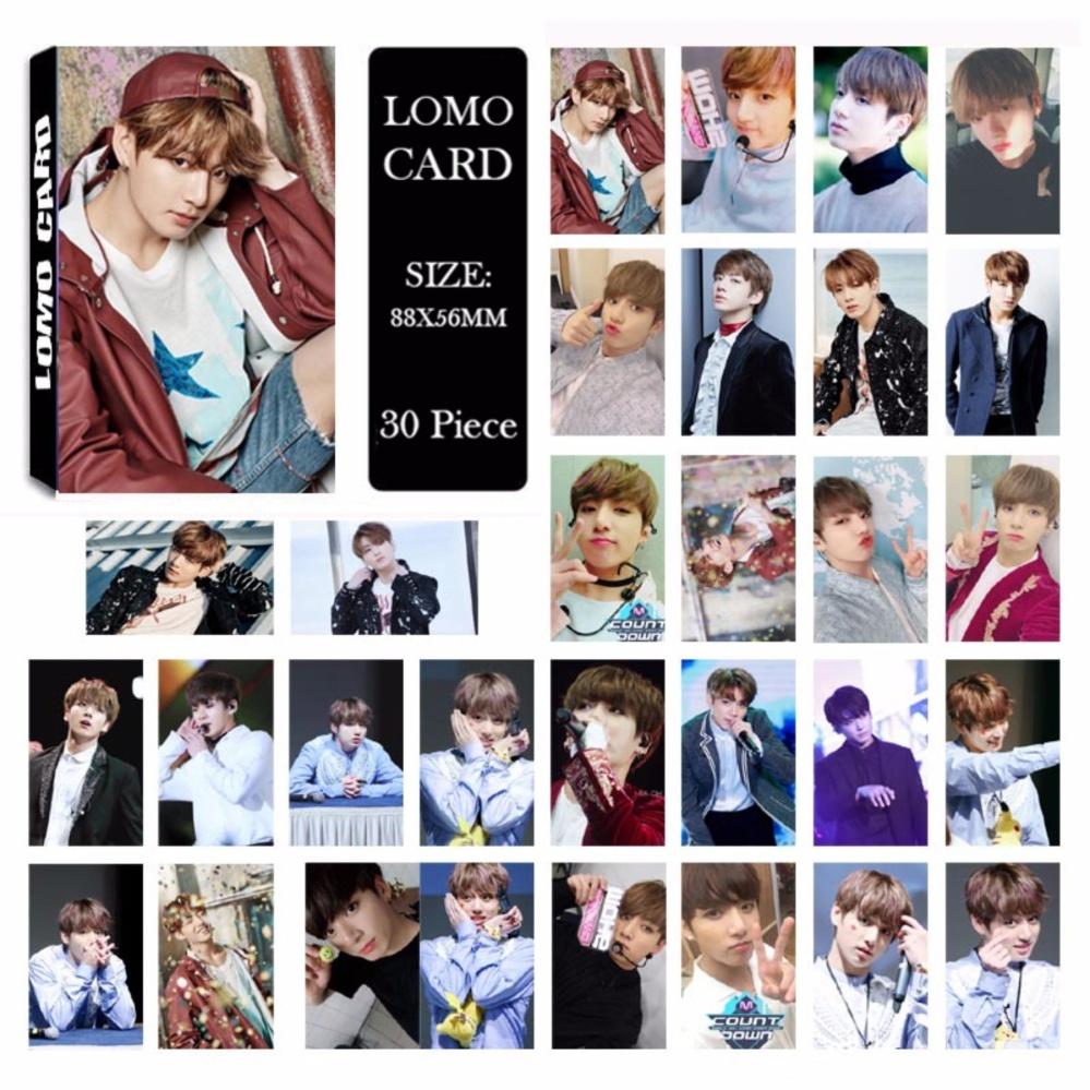 BTS Bangtan Boys YOU NEVER WALK ALONE JUNGKOOK Album LOMO Cards NewFashion Self Made Paper Photo