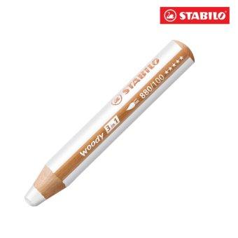Bút chì màu STABILO Woody 3 in 1 CLK880-100(trắng)
