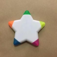 Bút nhớ dòng (highlighter pen) 5 đầu, 5 màu hình ngôi sao
