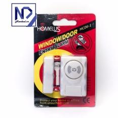 Cảm biến báo động chống trộm gắn cửa ra vào HomeLus MC06-1 (Âm thanh lớn)