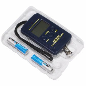 Cân điện tử cầm tay mini Electronic (Đen)