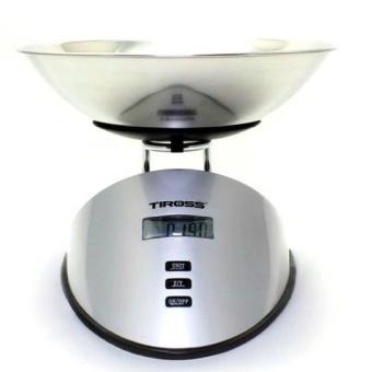 Cân nhà bếp điện tử 5kg Tiross TS816 (Trắng)
