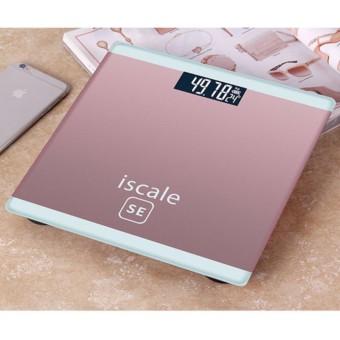 Cân sức khỏe điện tử mini cao cấp Màn hình LCD ISCALE SE